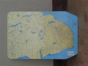 OLd Jurgens Map table