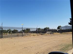 Industrial plot To let in Kimdustria Kimberley 100 m off the N12 neg