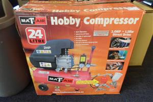 24lt. Mat-Air Hobby Compressor