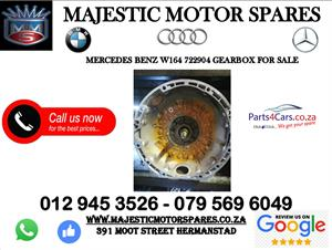 Mercedes benz W164 second hand gearbox for sale