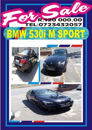 2006 BMW 5 Series 530i Exclusive