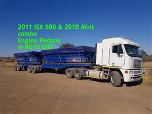 2011 ISX 500 & 2010 Afrit combo