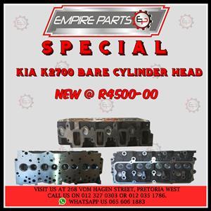 KIA K2700i Bare Cyinder Head NEW For SALE