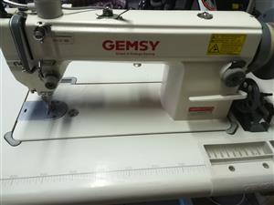 Walking foot sewing machine