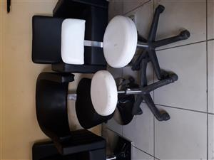Salon equipment for sale Wash basin R4000 and styling chairs for R3000 each chair