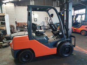 Toyota Forklift 8Series 2.5 ton Diesel