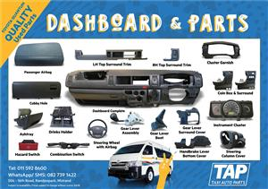 Toyota Quantum Dashboard & Parts - Taxi Auto Parts quality used spares - TAP