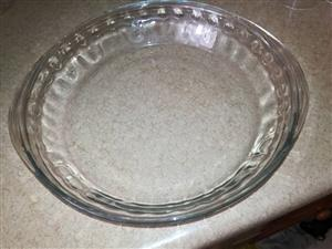 Glass snack dish for sale