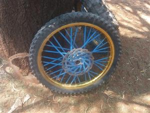 3 bike wheels