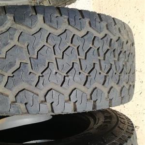 set of Maxxis 980 Bravo 265/65R17 Tyres