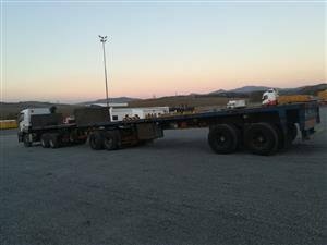 Superlink flatdeck trailer