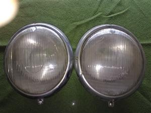 BOSCH HEADLIGHTS ... from VW Beetle split wndow.... 1950's era