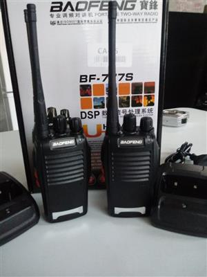 TWO WAY RADIOS - GET TWO RADIOS FOR THE PRICE OF 1-  PROMOTION TILL STOCK LAST