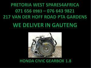 Honda civic 1.8 Gear Box For Sale