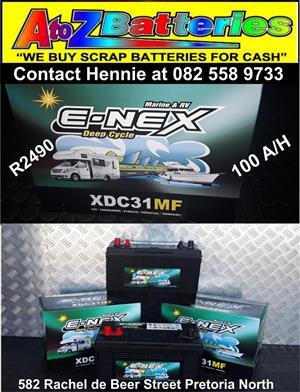 E-Nex Deep Cycle Battery