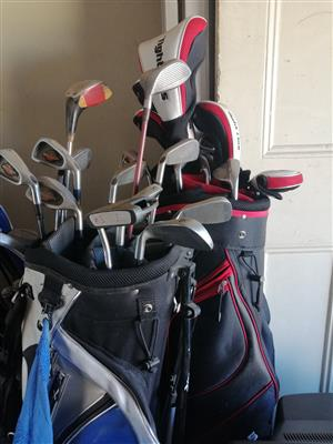 Golf sets together