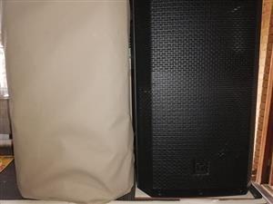 2 x EV ZLX12 Powered Speakers