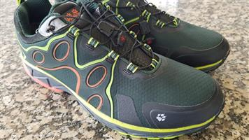 Jack Wolfskin The waterproof VENTURE FLY TEXAPORE LOW trail running shoe - size UK12