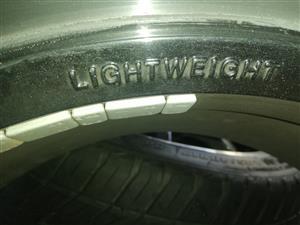 17 inch racing heart light weight motorsport rims