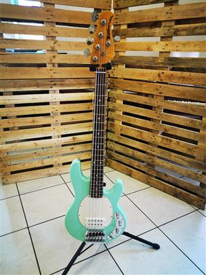 Ernie Ball Musicman Stingray Classic 5 String bass guitar for sale