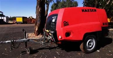 2018 Kaeser 185CFM Mobile Diesel Compressor - 138hrs