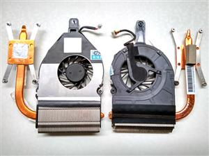 Laptop Cooling Fans and Heatsinks