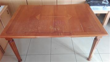Dining Room Table and Dining Office or Function Chairs