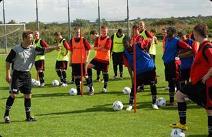 Highlands Park Football Academy training/assessment registration now open
