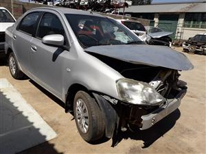 Toyota Etios 1.5 XS - 2013 - Stripping for spares