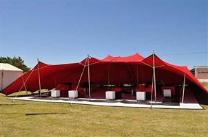 MANUFACTURERS OF PEG and POLE TENTS and STRETCH TENTS also HIRING of TENTS and CATERING EQUIPMENT