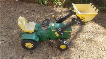 John Deere Pedal Tractor