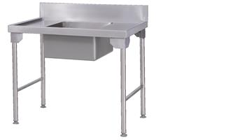 SINGLE BOWL-PREP SINK 1100mm-SBPS11-9430