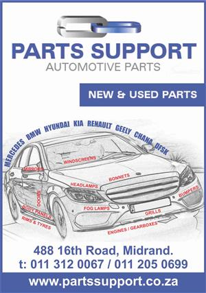 SPARES IN JOHANNESBURG , EAST RAND ,PRETORIA, SEDIBENG, WEST RAND