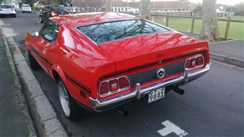 1971 Mustang Mach 1 Fastback  for sale