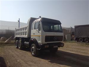 1998 MERCEDES BENZ V- SERIES  10 cube TIPPER FOR SALE