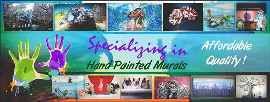 Need a Mural painted with the finest detail? Let Mural Nation turn your wall into a masterpiece!