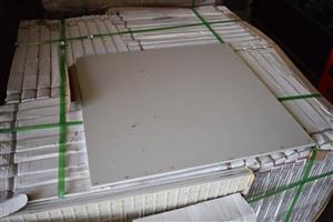 Large white tiles for sale