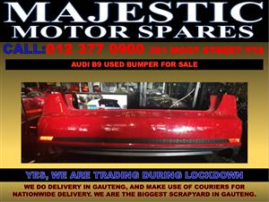 Audi B9 used bumper for sale