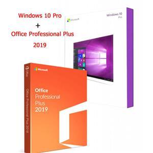 Windows 10 pro and office 2019 pro USB