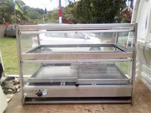 Large food warmer for shop / restaurant