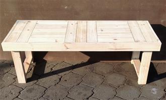 Bench for Hallway Farmhouse series 1440 - Raw