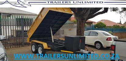 TIPPER TRAILERS TO PERFECTION. 3000 X 2000 X 500MM TRAILERS UNLIMITED
