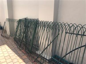 Pool Fencing with latch lock gate
