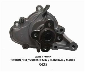 WATERPUMP *NEW* - TUBITON / I30 / SPORTAGE MK2 / ELANTRA J4 / MATRIX