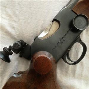 .22 hunting rifle BSA