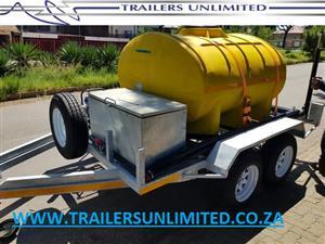 DIESEL / PETROL / WATER TRAILERS. WE CUSTOM BUILD TO YOUR NEEDS.