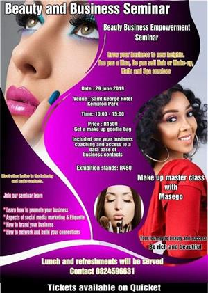 Beauty and Business Seminar