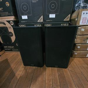 "QSC K12.2 12"" 2,000W 2-way Powered Speaker- Pair"