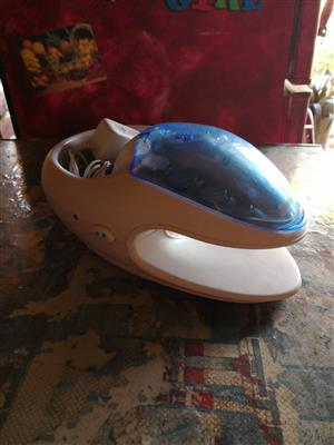 massagers and nail dryer and kit for sale