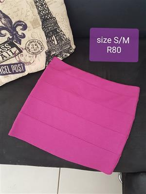 Size S/M Pink skirt for sale